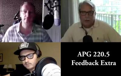 APG 220.5 – Feedback Extra