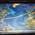 Atlantic Crossing Route