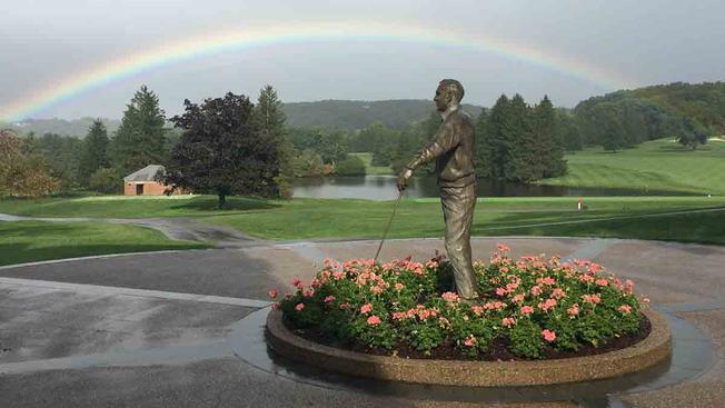 APG 240 – Rainbow Shines Over Captain Arnold Palmer