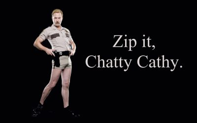 APG 269 – Zip it, Chatty Cathy