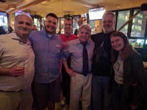 Roger, Ken, Dan, Dave, Jeff, Nick, Tanya