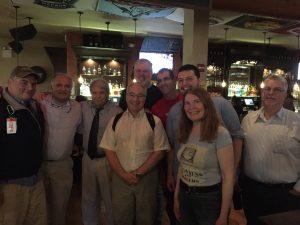 Hillel, Roger, CA Jeff (x2), CA Nick, Dave, Dan, Tanya, Ken