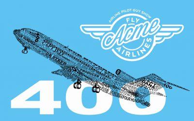 APG 400 – 400!