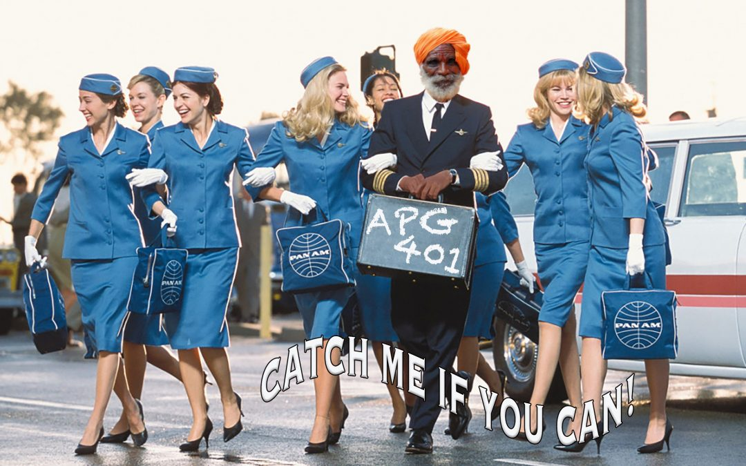 APG 401 – Catch Me if You Can