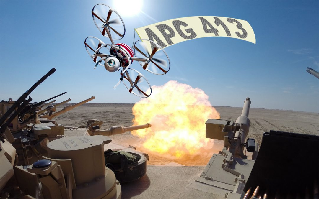 APG 413 – Drone Dome Blown!