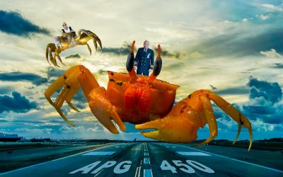APG 450 – Landing in a Crab